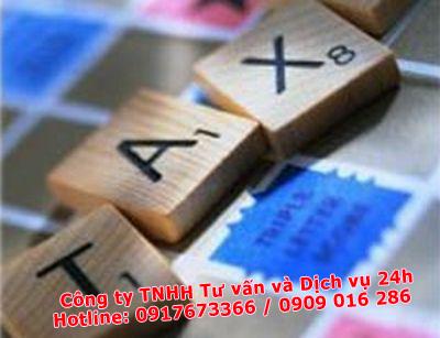 các loại thuế