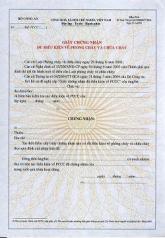 Xin giấy phép chứng nhận đủ điều kiện về PCCC